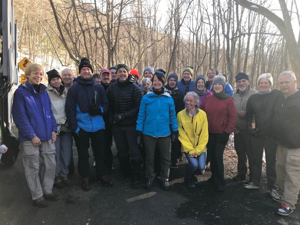 A group of hikers before a Wanderbird's hike